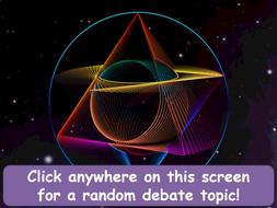 the science debate generator gcse ks4 science chemistry physics