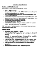 AQA DNA Dennis Kelly revision guide