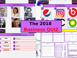 The Big 2019 Business Quiz