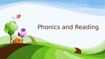 Phonics and Reading Workshop Powerpoint