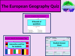 The Big 2018 Geography Quiz Part II