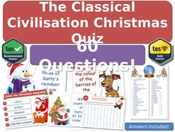 Classical-Civilisation---Christmas-Quiz!--60-Questions--Cover.pptx