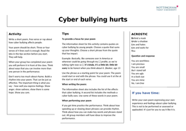 Cyber-bullying-hurts-activity-sheet.docx