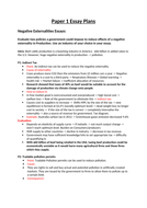 Sample Synthesis Essays Edexcel Economics Alevel Paper  Essay Plans Science Essay Topics also The Yellow Wallpaper Essay Edexcel Economics Alevel Paper  Essay Plans By Gserafini  English Sample Essays