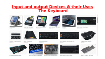 input and output devices and their uses by geo pal2000 teaching