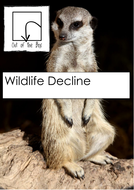 Science cover lesson. Wildlife decline