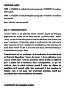 Thesis Statement In An Essay Entre Les Murs A Level French Essay Practice Monsieur Marin Business Studies Essays also Health Promotion Essays Entre Les Murs A Level French Essay Practice Monsieur Marin By  Science Argumentative Essay Topics