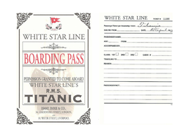 TITANIC PASSENGER RESEARCH ACTIVITY LESSON POWERPOINT