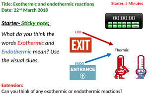 L6- Exothermic and Endothermic Reactions.pptx