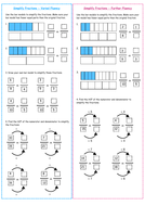 white rose y6 block 3 fractions by mathsteryeducation. Black Bedroom Furniture Sets. Home Design Ideas