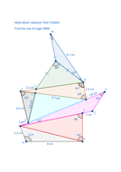 Sine and Cosine rule trigonometry pile up | Teaching Resources
