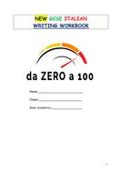 NEW GCSE ITALIAN WRITING PREPARATION BOOKLET