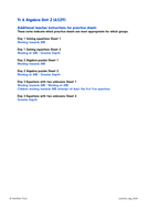 Practice Worksheets Solve Equations With Two Unknowns Year 6