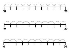 Number line worksheets   Teaching Resources