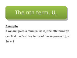 Sequences-using-the-nth-term.pptx