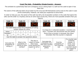 Crack-The-Safe---Probability-(Single-Events)---Answers.docx