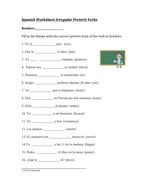 Spanish Irregular Preterite Verbs Worksheet: Verbos Irregulares del  Pretérito