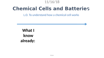 C7.5 Chemical Cells and Batteries