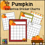 Pumpkin Incentive Reward Charts