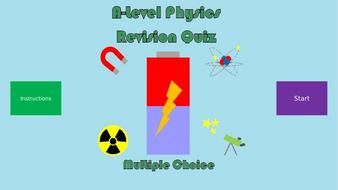 A-Level Physics Revision Quiz