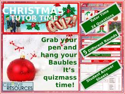 Christmas-2018-Quiz-Tutor-Time-Version.pptx