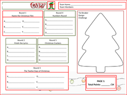 Christmas-Answer-Sheet-Tutor-Time-Version.pptx
