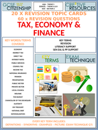Key-Word-Cards---Tax-and-the-Economy----Pictures.pptx