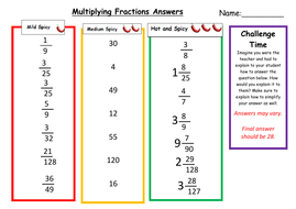 multiplying fractions differentiated lesson and worksheet by   multiplyingfractionsdifferentiatedworksheetanswerspdf