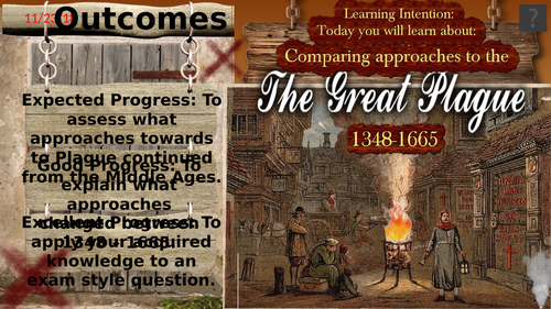 Approaches to the Plague 1348-1665: Continuity / Change.