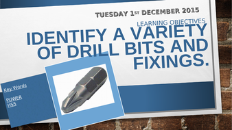 Drill-bits-and-fixings-tes.ppt