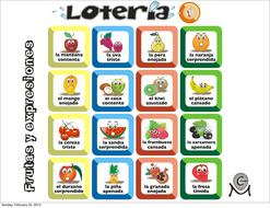 Spanish bingo - Loteria Frutas y expresiones.pdf