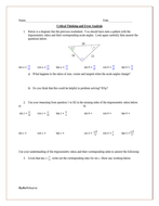 Trigonometric Ratios: Critical Thinking and Error Analysis