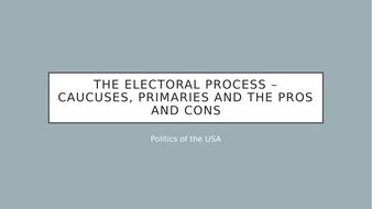 AQA - US primary and caucuses