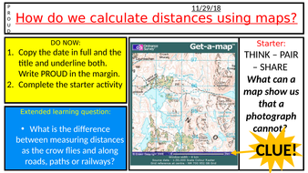 Understanding Map Scale by patsy_howard - Teaching Resources - Tes