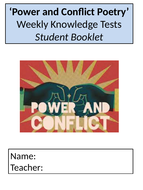 AQA Power and Conflict Booklets