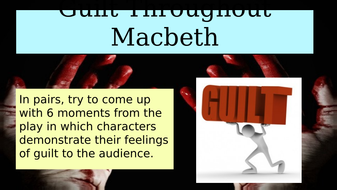 Gcse Macbeth  Guilt Throughout The Play  Essay Lesson By  Guiltthroughouttheplaypptx Speech Outline Buying S also Thesis For Argumentative Essay  Writing High School Essays