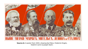 stalin cult of personality