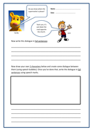 "**""Speech Marks"" - Worksheet**"