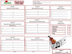 Music-Answer-Sheet.pptx
