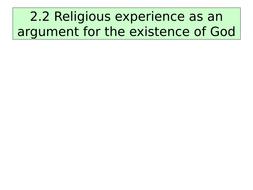 swinburne religious experience