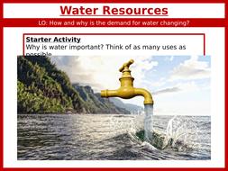 Theme 6: Development Resource Issues Key Idea 6.3 (Eduqas WJEC 9-1)