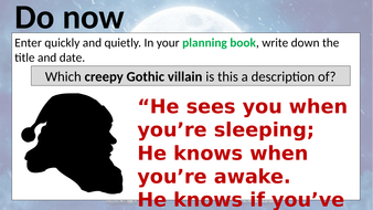 how to write a good gothic story