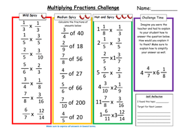 Learn to Multiply and Divide with Fractions | Free Homework Help