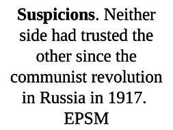 main causes of cold war