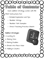 Mental Math Addition Strategies and Worksheets