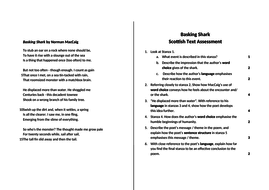 Norman MacCaig Poetry Assessments - Scottish Text - National 5 & Higher