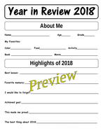 Year in Review 2018 and Goals for 2019