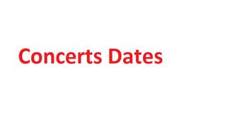 Hamilton concerts