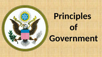 Principles of Government Lesson Plan