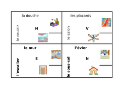 maison house in french 4 by 4 by jer520 teaching resources tes
